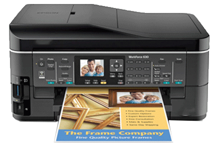 epson Workforce-630 setup driver support epsonconnect wireless