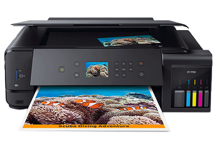 epson ET-7750 setup driver support epsonconnect wireless