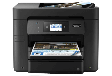 epson Workforce Pro WF-4734 setup driver support epsonconnect wireless