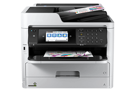 epson Workforce Pro WF-C5790 setup driver support epsonconnect wireless
