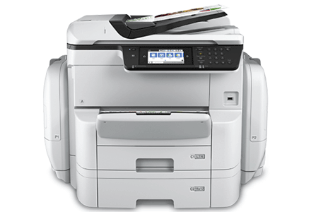 epson Workforce Pro WF-C869R setup driver support epsonconnect wireless