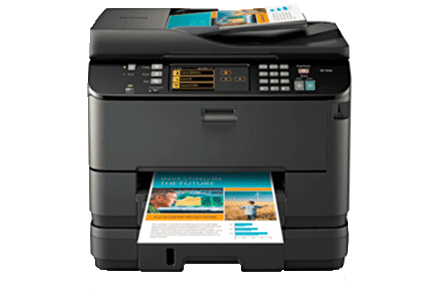 epson Workforce Pro WP-4540 setup driver support epsonconnect wireless