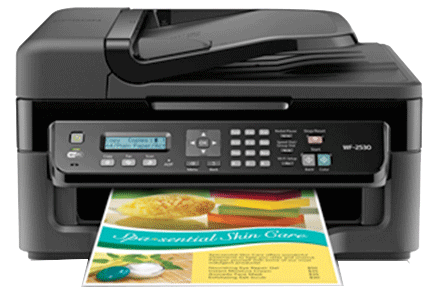 epson Workforce WF-2530 setup driver support epsonconnect wireless