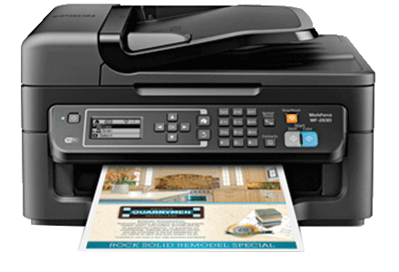 epson Workforce WF-2630 setup driver support epsonconnect wireless