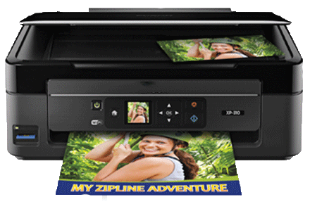 epson XP-310 setup driver support epsonconnect wireless