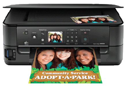 Epson Stylus-NX530 setup driver support epsonconnect wireless