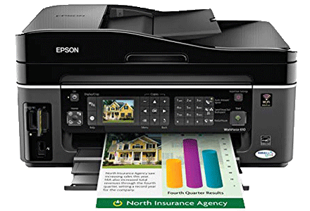 epson Workforce-610 setup driver support epsonconnect wireless