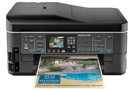 epson Workforce-635 setup driver support epsonconnect wireless