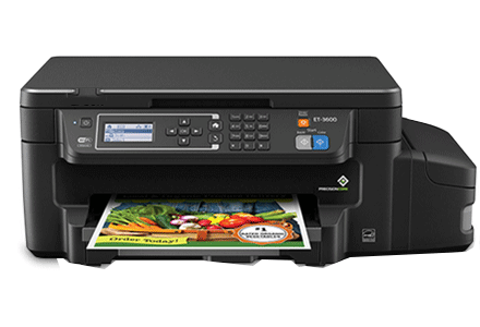 epson ET-3600 setup driver support epsonconnect wireless