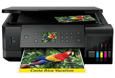 epson ET-7700 setup driver support epsonconnect wireless