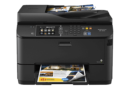 epson Workforce Pro WF-4630 setup driver support epsonconnect wireless