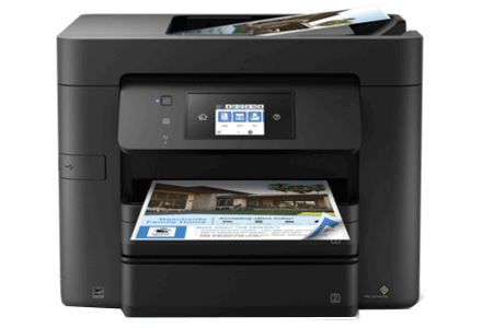 epson Workforce Pro WF-4730 setup driver support epsonconnect wireless