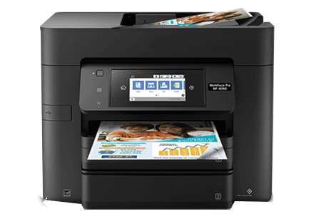 epson Workforce Pro WF-4740 setup driver support epsonconnect wireless