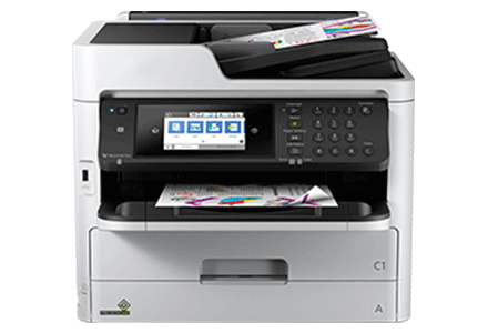 epson Workforce Pro WF-c5710 setup driver support epsonconnect wireless