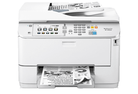 epson Workforce Pro WF-m5694 setup driver support epsonconnect wireless