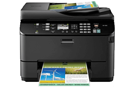 epson Workforce Pro WP-4530 setup driver support epsonconnect wireless