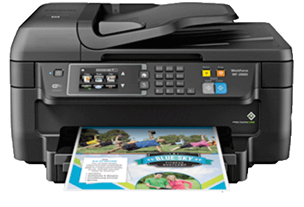 epson Workforce WF-2660 setup driver support epsonconnect wireless