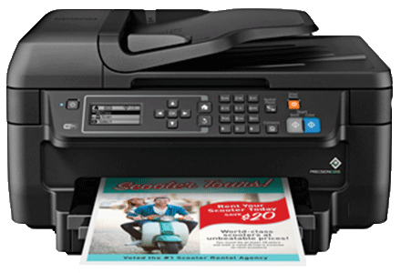 epson Workforce WF-2750 setup driver support epsonconnect wireless
