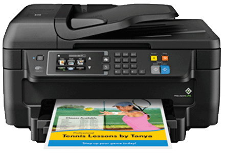 Epson Workforce WF-2760 setup Support Wireless Setup, Driver