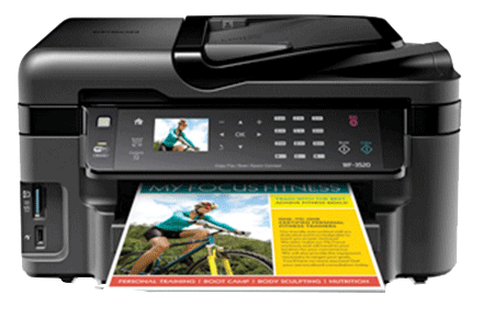 epson Workforce WF-3520 setup driver support epsonconnect wireless