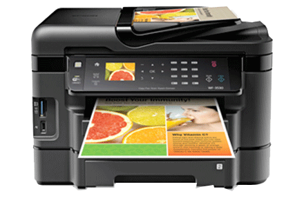 epson Workforce WF-3530 setup driver support epsonconnect wireless