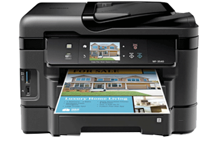 epson Workforce WF-3540 setup driver support epsonconnect wireless