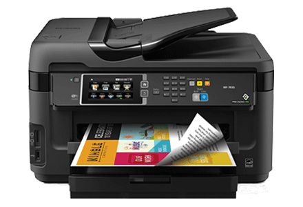 epson Workforce WF-7610 setup driver support epsonconnect wireless