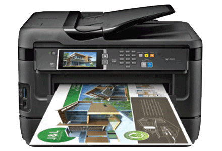 epson Workforce WF-7620 setup driver support epsonconnect wireless