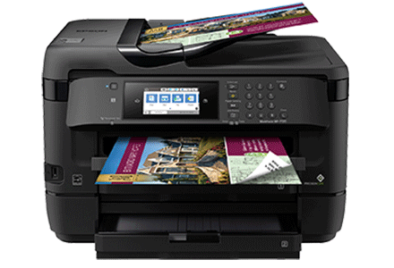 epson Workforce WF-7720 driver support epson connect wireless