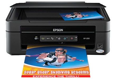 epson XP-200 setup driver support epson connect wireless