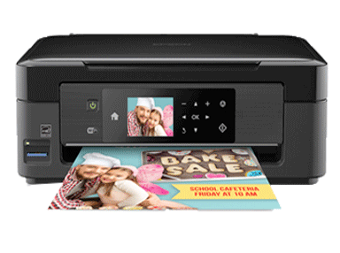 epson XP-434 setup driver support epson connect wireless