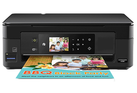 epson XP-440 setup driver support epson connect wireless