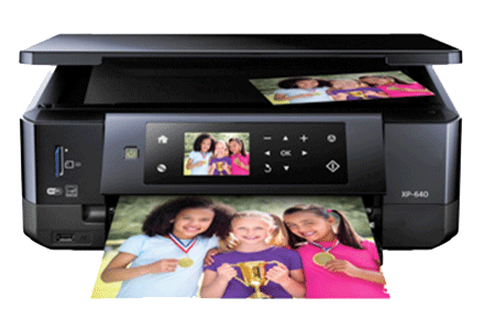 epson XP-640 setup driver support epson connect wireless