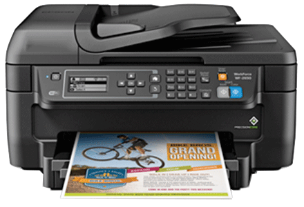 epson Workforce 1100 setup driver support epsonconnect wireless