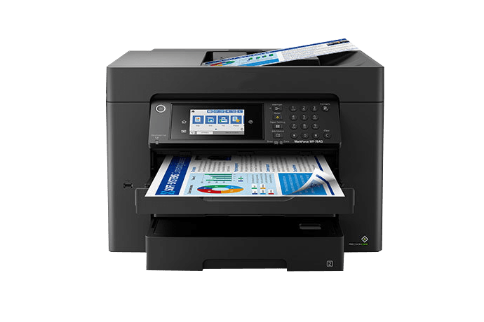 epson Workforce Pro WF-7840 setup driver support epsonconnect wireless